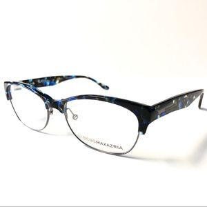 BCBG MAXAZRIA Blue Black Eyeglasses  New with Tags